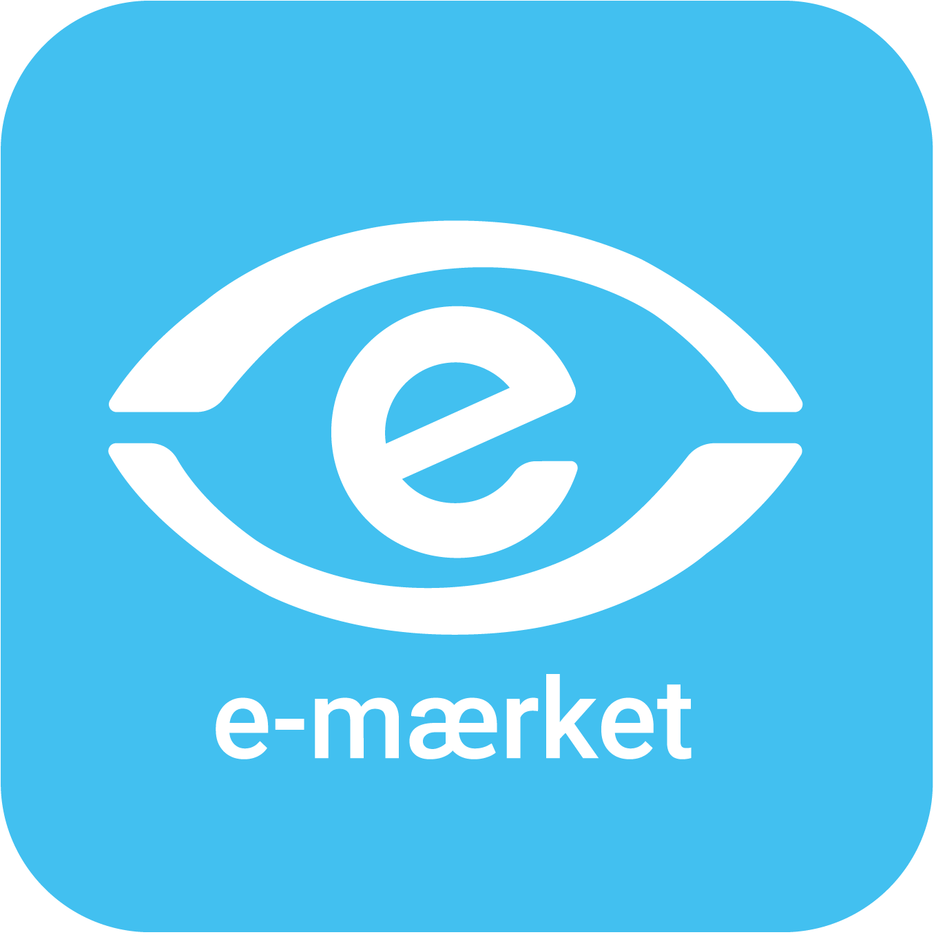 e-mærket certifikatlogo
